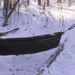 Underquilt for winter Hammock camping